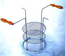 Тарелка - решетка для тандыра трехъярусная - фото 10305