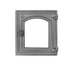 Дверца Везувий чугунная печная (ДТ-4С) не крашенная без стекла