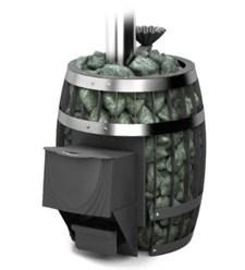 Печь для бани ТМФ Саяны II Carbon дверца антрацит закр. каменка - фото 10408