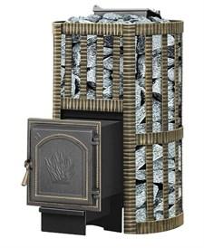 Печь для бани Везувий Ураган Ковка 28 (271) закр каменка дровяная - фото 10409