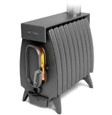 Печь отопительно-варочная ТМФ Огонь-батарея 9 Лайт дровяная антрацит - фото 10435