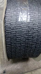 Шнур уплотнительный из керамического волокна самоклеящийся, 10*2 мм, 1 метр - фото 10535