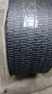 Шнур уплотнительный из керамического волокна самоклеящийся, 10*2 мм, 1,5 метра - фото 10542