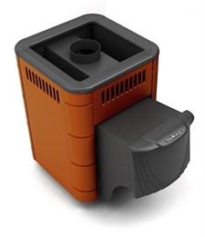 Печь для бани ТМФ Оса Carbon дверца антрацит терракота - фото 5165