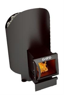 Печь для бани Grill'D Aurora 160 long black - фото 5170