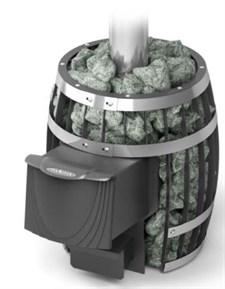 Печь для бани ТМФ Саяны Мини Carbon дверца антрацит - фото 5193