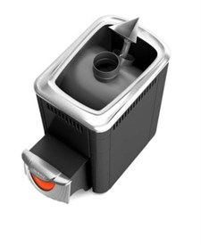 Печь для бани ТМФ Ангара 2012 Inox нерж.дверца со стеклом закр.каменка антрацит - фото 5259