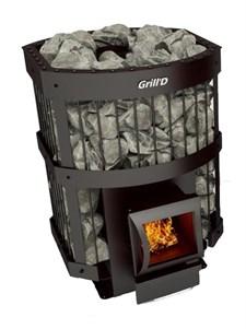 Печь для бани Grill'D Leo 240 Short grey - фото 5311