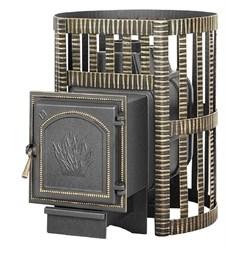 Печь для бани Везувий Легенда Ковка 16 (271) дровяная - фото 5312