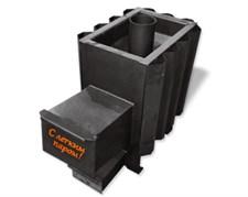 Печь для бани AGNI С легким паром! 12-18 куб.м длинный топл канал антрацит - фото 5314