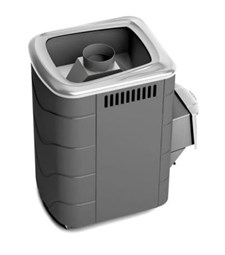 Печь для бани ТМФ Компакт 2013 Carbon нерж.дверца антрацит - фото 5332