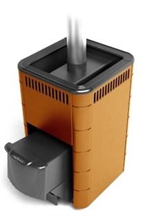 Печь для бани ТМФ Карасук Carbon дверца антрацит терракота - фото 5371
