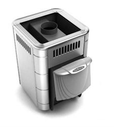 Печь для бани ТМФ Оса Inox нерж.конвектор короткий топливный канал - фото 5406