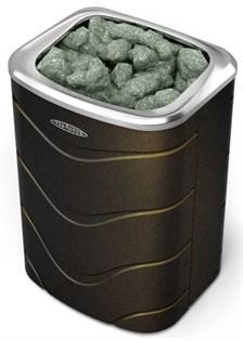 Печь для бани электрическая ТМФ Примавольта черная бронза 9 кВт - фото 5491
