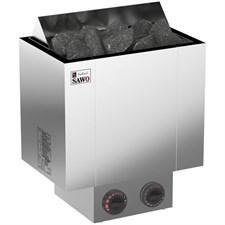 Печь для бани электрическая Sawo Nordex NRX-90NB-Z встроенный пульт индикатор 9 кВт - фото 5507