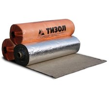 Материал базальтовый огнезащитный рулонный фольгированный МБОР-5ф (10000*1000*5мм) - фото 5584
