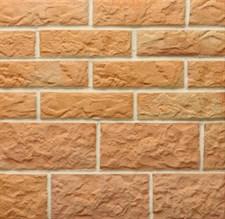 """Плитка """"Терракот"""" 1 сорт угловая Рваный камень угл. Ст 6 Макси  разноцвет (16 шт) - фото 5694"""