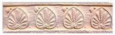 """Плитка """"Терракот"""", 1 сорт, прямая, ДЕКОР, Родос мини (36шт) - фото 5700"""