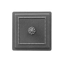 Дверца Везувий чугунная прочистная (235) 170*170 мм антрацит - фото 5746