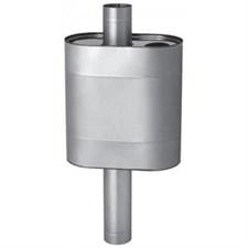 Бак Феррум Комфорт самоварного типа 60 л нержавеющий (AISI 201/1,0 мм) ф115 мм эллипс - фото 5748