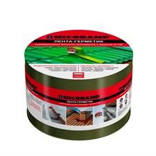 Лента NICOBAND герметизирующая самоклеющаяся 10см*3м, зеленая - фото 5750