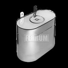 Бак Феррум Комфорт выносной 60 л нержавеющий (AISI 201/1,0 мм) вертикальный эллипс - фото 5766