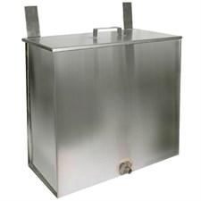 Бак Феррум Комфорт навесной 60 л нержавеющий (AISI 201/1,0 мм) прямоугольный - фото 5803