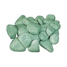 Камень для бани Жадеит шлифованный, 10 кг, мелкий, коробка, ЗЖ - фото 5814