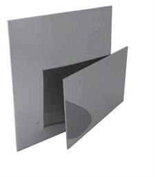 Экран Феррум защитный нерж.(430/0,5 мм), 500*500 - фото 5852