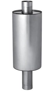 Бак Феррум Комфорт самоварного типа 45 л нержавеющий (AISI 201/1,0 мм) ф115 мм круглый - фото 5933