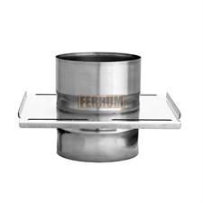 Площадка Феррум монтажная одностенная (430/0.8 мм), ф115, по воде - фото 5979