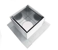 Разделка Феррум потолочная нержавеющая (430/0,5 мм), 600 ф200 (ППУ Н) - фото 5995