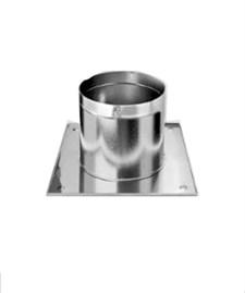 Разделка Феррум потолочная нержавеющая (430/0,5 мм), 500 ф150, с утеплителем - фото 6076
