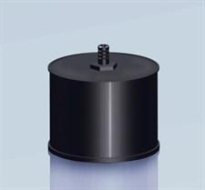 Заглушка Agni М с конденсатоотводом, эмалированная, 0,8, d-200 - фото 6080