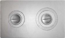 Плита чугунная П-2-3, с конфорками, 710*410*15мм, Балезино - фото 6130
