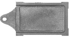 Задвижка чугунная печная ЗВ-6, 395*265 мм, Балезино - фото 6132