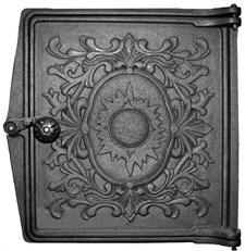 Дверца чугунная топочная ДТ-4, 250*280 (270*295) мм, Балезино - фото 6150