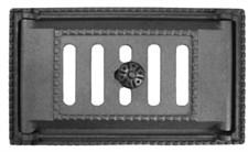 Дверца чугунная поддувальная ДП-2А, 310*180*97 мм, с регулировкой поддува, Рубцовск - фото 6160