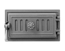 Дверца Везувий чугунная поддувальная, (236), 185*320 мм, антрацит - фото 6174