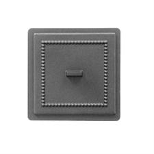 Дверца Везувий чугунная прочистная, (237), 170*170 мм,антрацит - фото 6234