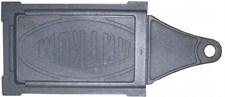 Задвижка чугунная печная ЗВ-3, 390*190 мм, Балезино - фото 6235