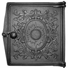 Дверца чугунная топочная ДТ-4, 291*296 мм, Рубцовск - фото 6255