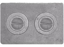 Плита чугунная П-2-7,  малая цельная, 510*340*15мм, Рубцовск - фото 6256