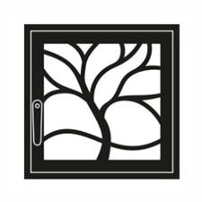 Дверца каминная ГрейВари Флора L, 526х508 мм - фото 6304