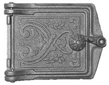 Дверца чугунная прочистная ДПр-1, 158*108 мм, Рубцовск - фото 6306