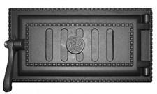 Дверца чугунная поддувальная ДПУ-3 340*190*111 мм, уплотненная, Рубцовск - фото 6308