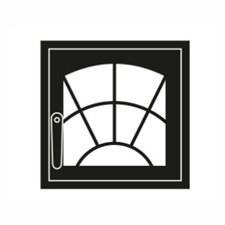 Дверца каминная ГрейВари Арка М 460х442 мм - фото 6322