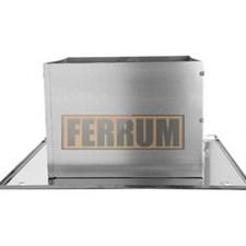 Разделка Феррум потолочная нержавеющая (430/0,5 мм), 500 ф120, составная - фото 6340