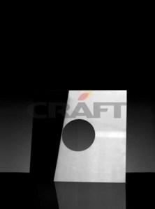 Разделка Craft потолочная декоративная нерж. (430/1,0 мм), 600*600, с отв. ф210 - фото 6362