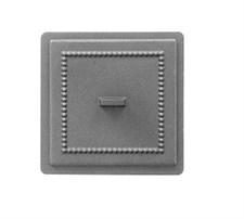 Дверца Везувий чугунная прочистная, (237), 170x170 мм  некрашеная - фото 6379